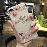 3D Flower Mobile Case-4