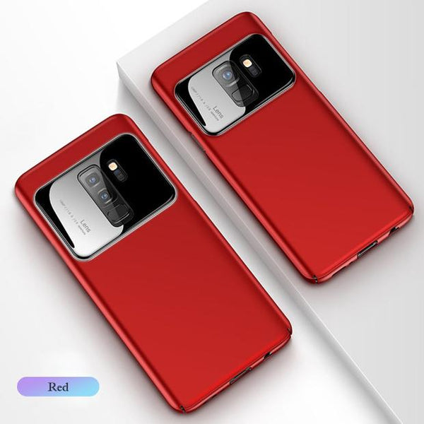 874-Slim Anti Mirror Protective Case For S9/S9+