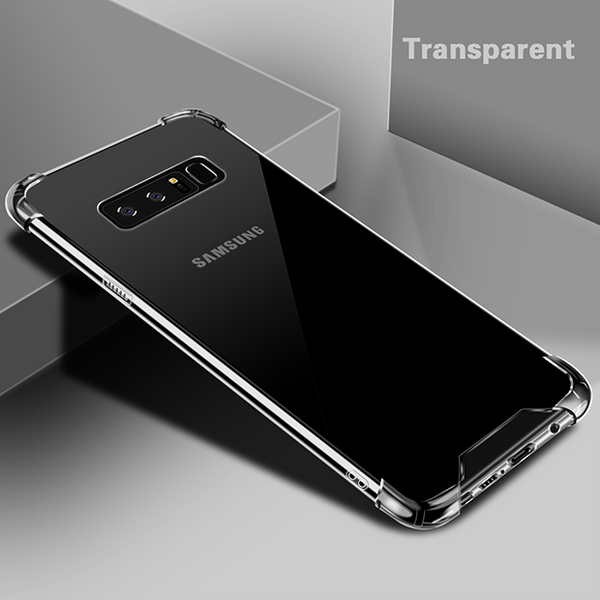 710-Transparent Crystal Shockproof Case For Note 8