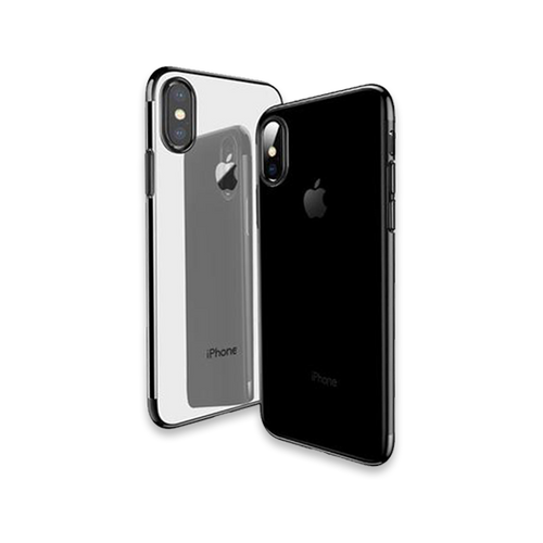 531-Ultra Thin Transparent Case For iPhone X