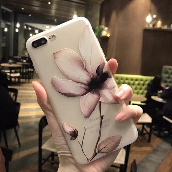 3D Flower Mobile Case-6