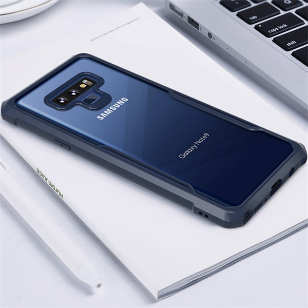 979 - Transparent Silicone Ultra-thin All-inclusive Case For Samsung Note 9