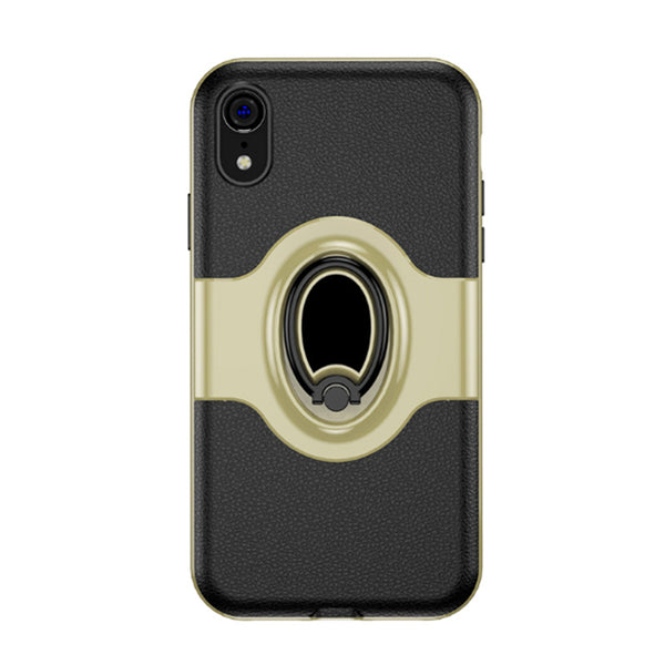 1100-Luxury Magnetic Bracket Car Cases For iPhone