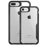 794-Transparent Anti-knock Soft Silicone Case For iPhone