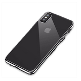 616-Luxury Plating Ultra Thin Color Mirror Case For iPhone X