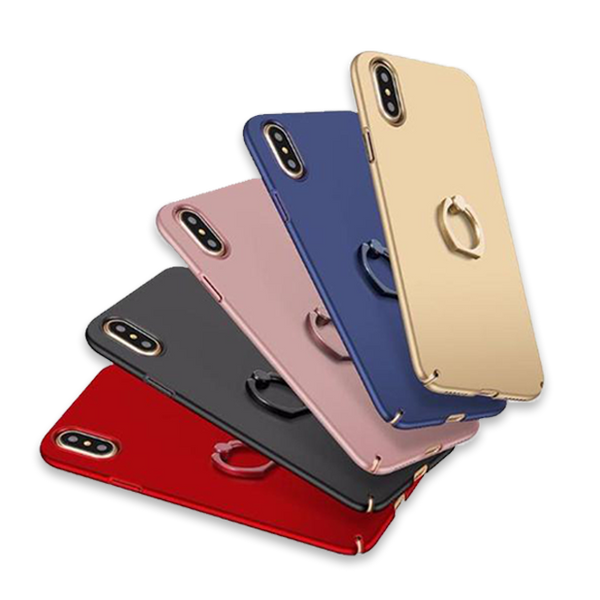 623-Ultra Thin Case With Ring For iPhone X