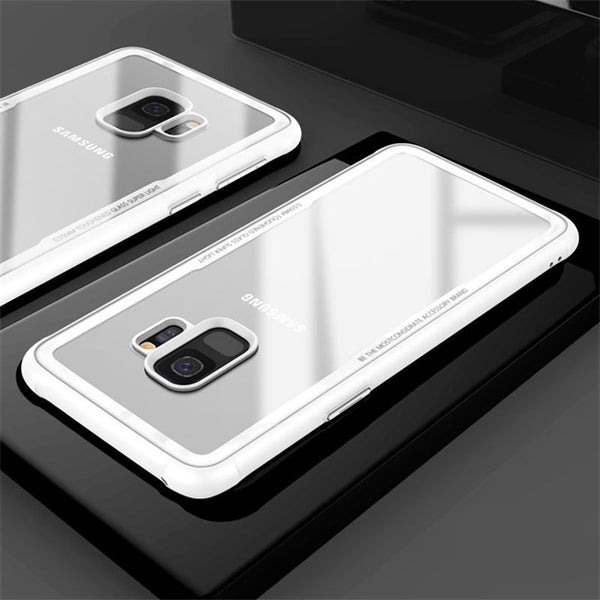 1121-Tempered Glass Phone Case For Samsung S9/S9+