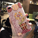 3D Flower Mobile Case-7