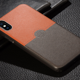 759-Leather Anti-Knock Case For iPhone