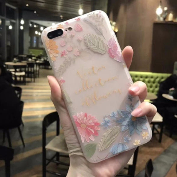 3D Flower Mobile Case-9