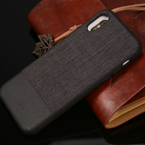 760-Luxury Cloth Soft Case For iPhone