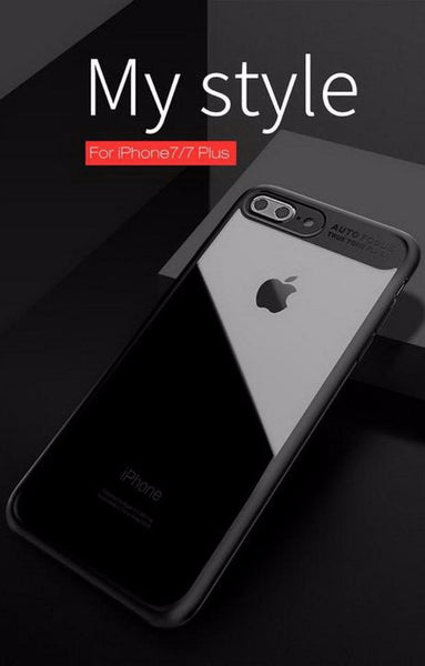 Ultra Slim Full Protective TPU Edge Case For iPhone