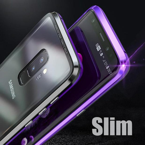 1016-Luxury Magnetic Metal Case For Samsung