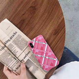 1092-Love Heart Soft Silicon Matte Case For iPhone