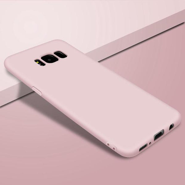 699-Silicone Ultra Thin Matte Case For Note 8