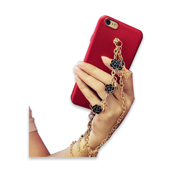 150-iPhone Case with Gold Chain Case For iPhone