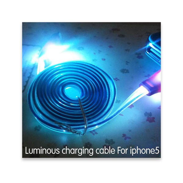 036-LED Visible Light Luminous USB Cable