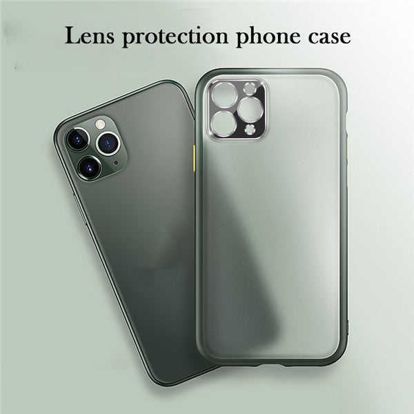 Metal Camera Lens Protection Case for iPhone