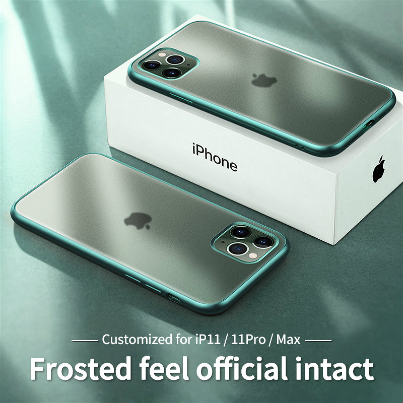 Ultra Thin Transparent Shockproof Soft TPU Protective Case For iPhone