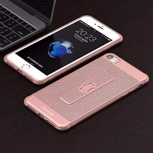 BFCM-422-With Holder & Mesh Fitted Case For iPhone