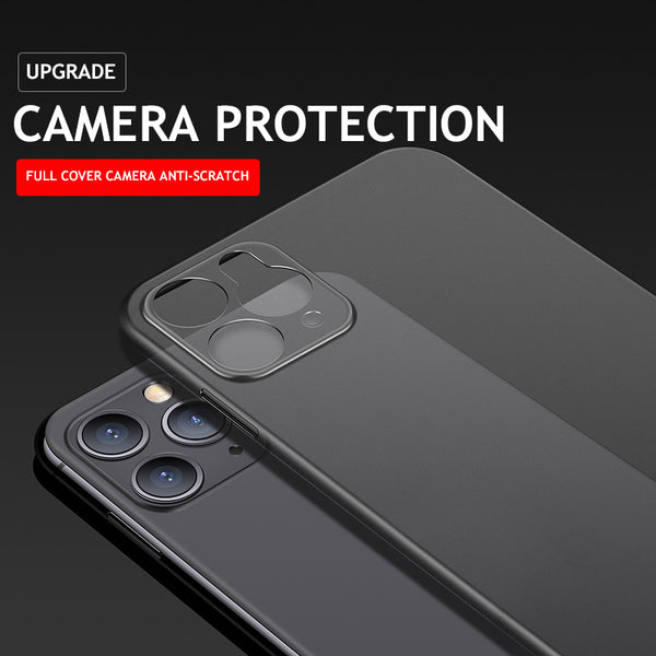 New Upgrade Camera Protection Transparent Case For iPhone
