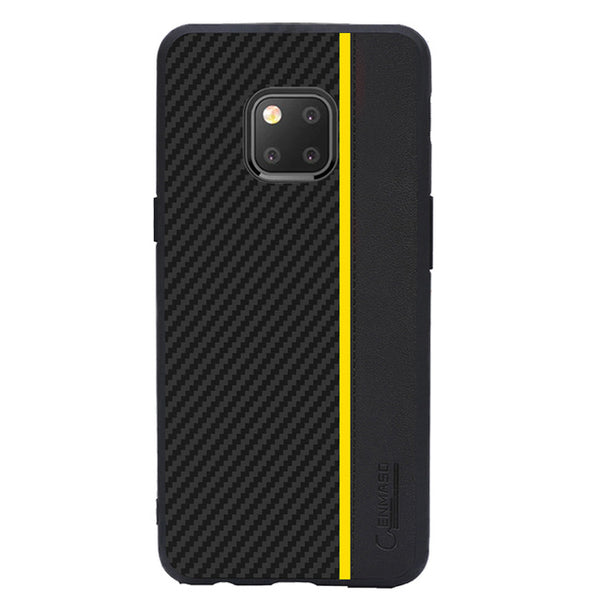 Huawei Case Original Carbon Fiber Leather Protect