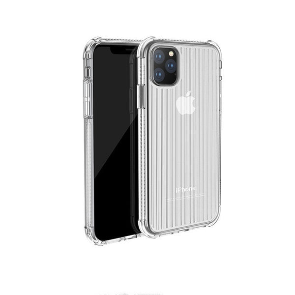 Copy of Curved Suitcase Transparent Soft TPU Silicone iPhone Case