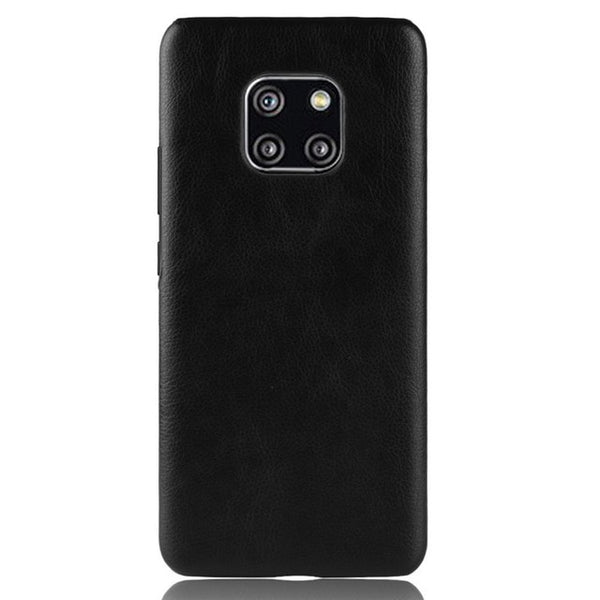 Leather Huawei Case Matte Back Cover Coque Bumper