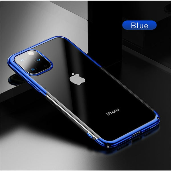 Luxury Transparent Ultra Thin Case For iPhone