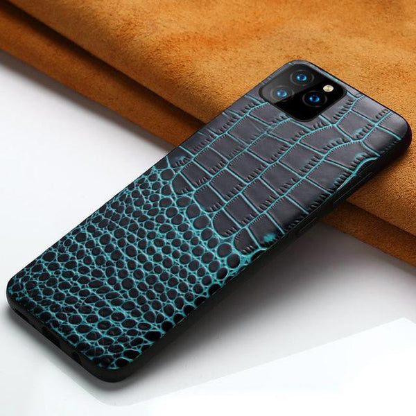 New Luxury Shockproof Genuine Leather phone case for iPhone