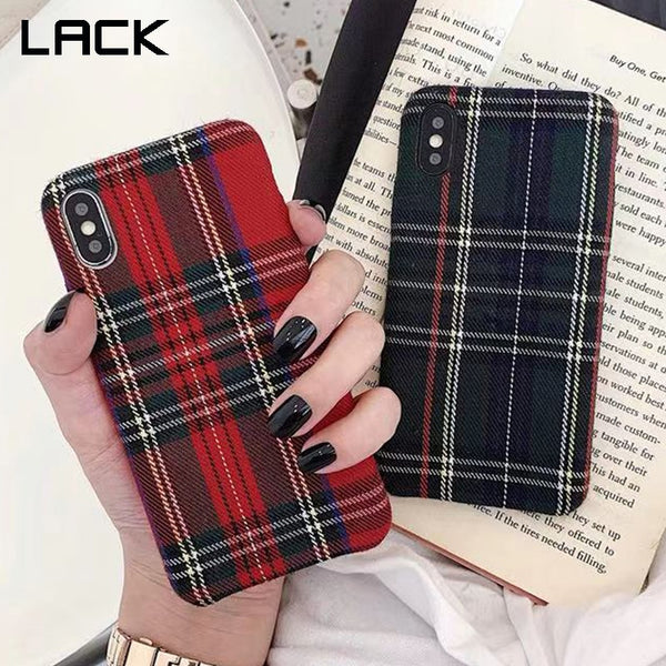 Simple Cloth Fabric Soft Tpu Case for Iphone 11 11 Pro