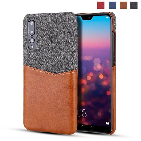Huawei P30 Mate 30 Card Slot Holder Hard Back Cover