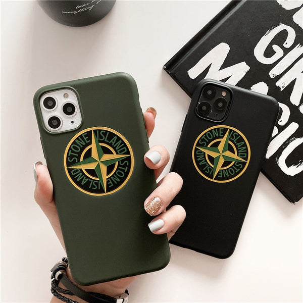 Fashion Brand Case for iPhone 11 Pro Max iPhone11 11Pro Logo Coque Soft Silicone Phone Cover