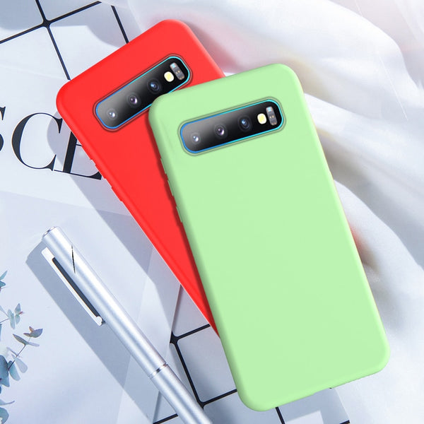 Original Ultra-thin Skin-friendly Inclusive Protection Silicone Case for SAMSUNG