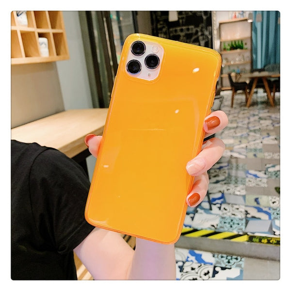 Fashion Fluorescent Color Phone Cases For iphone