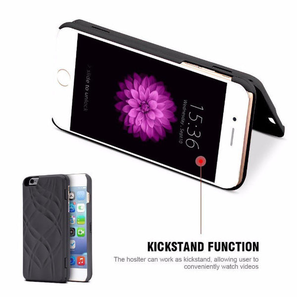 Fashion Mirror Wallet Case For iPhone