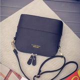 580-Women Retro Suede Leather Small Messenger Handbag