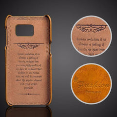 Luxury Leather Case For Samsung_yellow