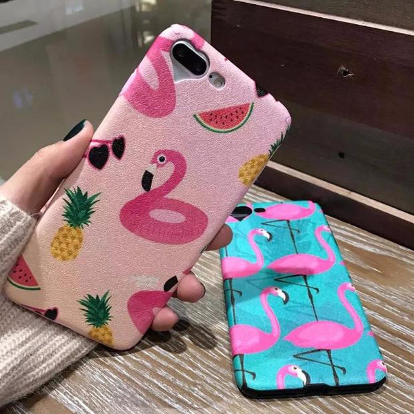 454-Cute Cartoon Animal Soft For iPhone Case