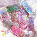 007-Fashion Liquid Glitter Sand Mobile Cases For iPhone