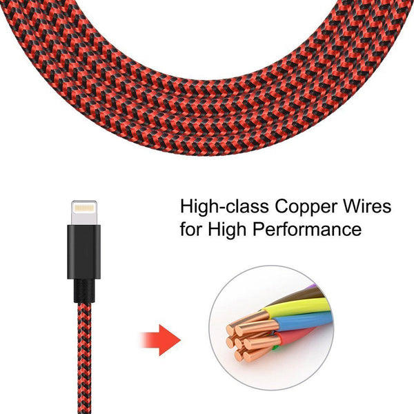 009-Lighting to USB Cable Nylon