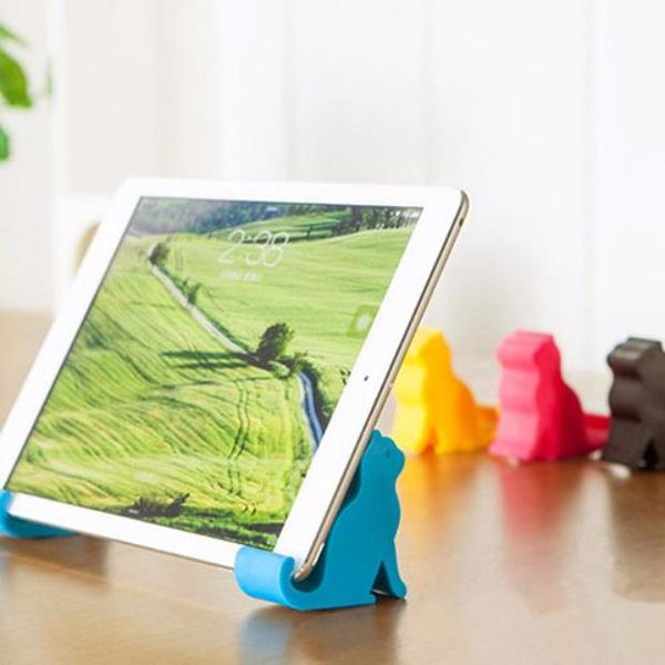 Cute Mini Cat Shape Phone Tablet Mounts Stand