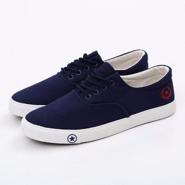 583-2017 NEW Mens Flats Breathable Fashion Classic Canvas Shoes