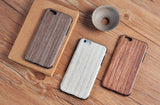 132-Wood Cover Luxury Mobile Case For iPhone