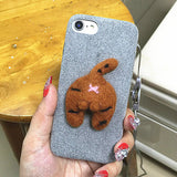 139-Cat Ass Case For iPhone