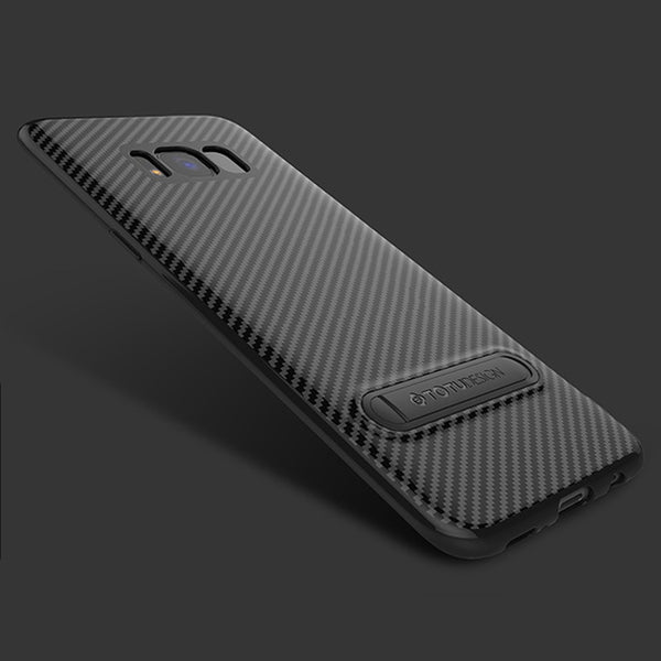 493-Luxury Soft Ultra Thin Carbon Fiber Cover For Samsung
