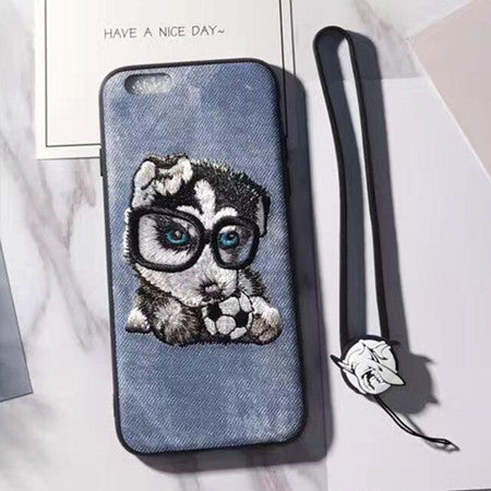158-Pug Dog Cover Case For iPhone