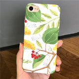 141-Fresh Literature and Art Green Leaf Cover Case For iPhone