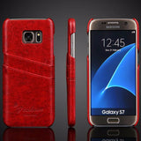 Luxury Leather Case For Samsung-2