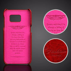 Luxury Leather Case For Samsung_pink